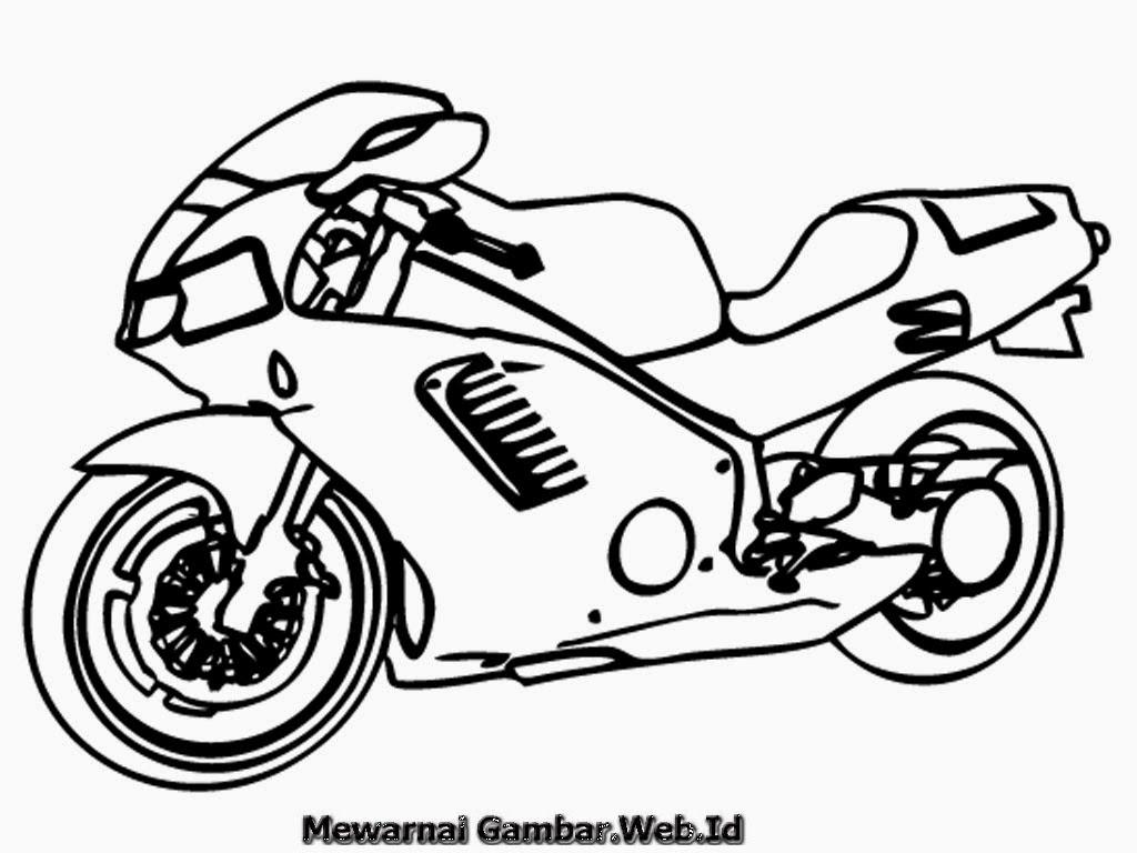 100 Gambar Motor Ninja Pensil Terbaru Dan Terlengkap Obeng Motor