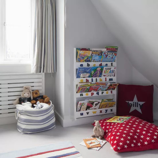 boys room with book corner ideal home housetohome