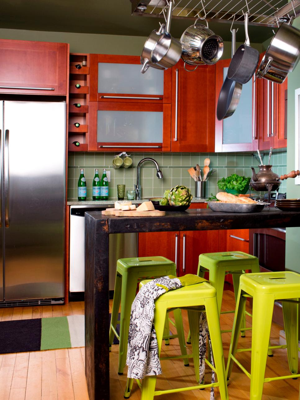 Space-Saving Ideas for Making Room in the Kitchen | DIY