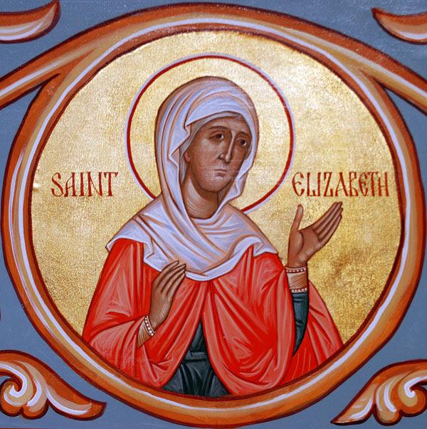 IMG ST. ELIZABETH, Mother of St. John the Baptis