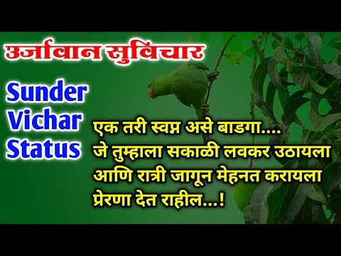 Most Motivational Sunder Vichar Status | आयुष्याला उर्जावान बनविणारे सुविचार