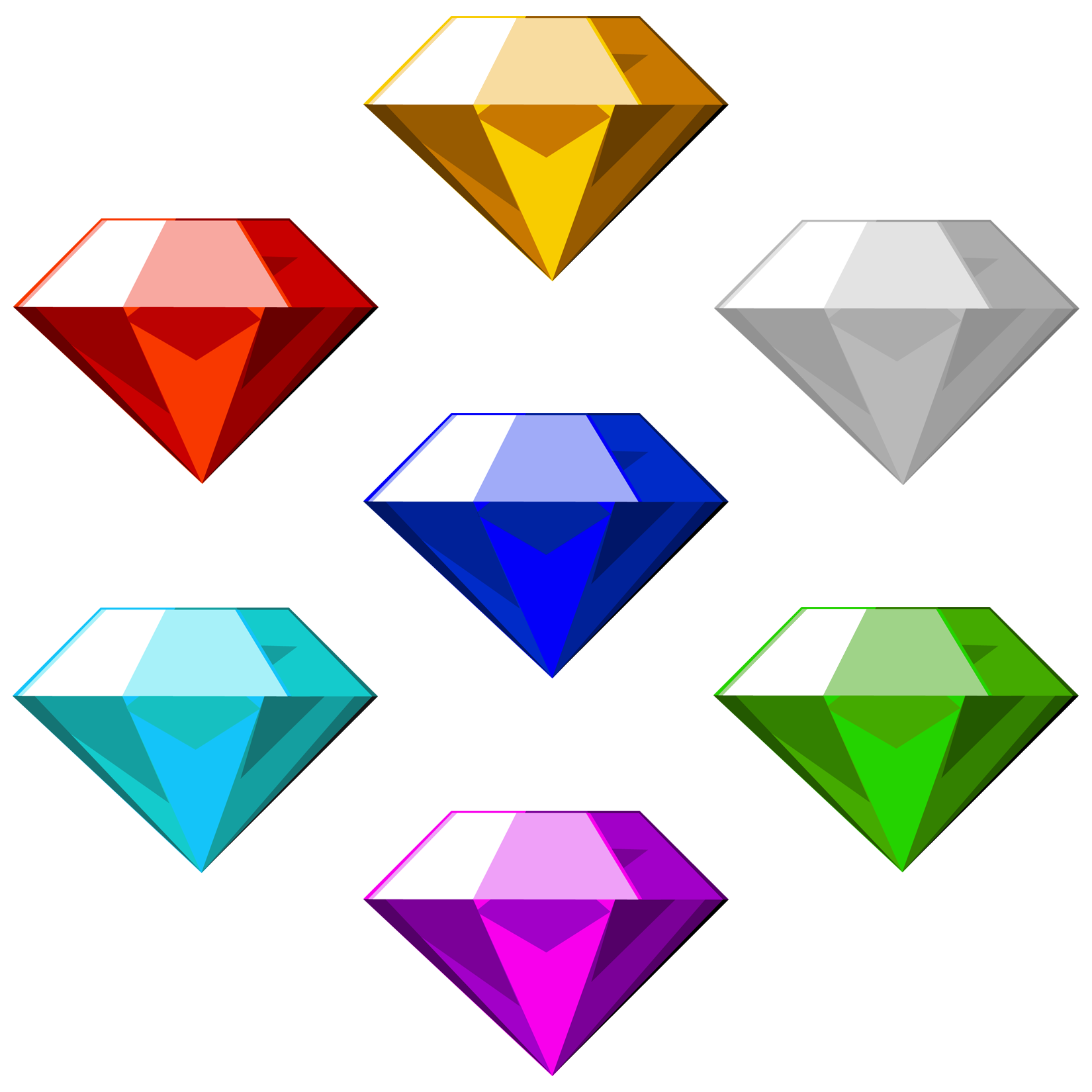 Chaos Emeralds   Sonic the Hedgehog Fanon Wiki   Fandom ...