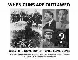gun confiscation mao hitler