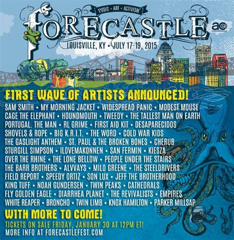 Forecastle 2015 Lineup   Stereogum