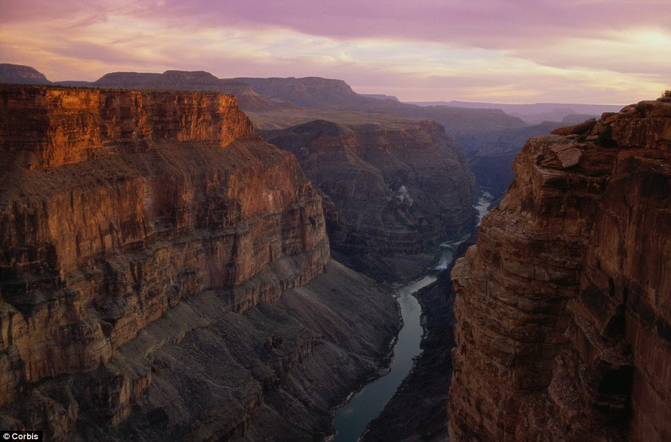 Stunning: The Grand Canyon is likely to be among the favourites in the online contest to find the new seven wonders of the natural world