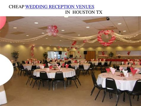 cheap wedding reception venues  houstan tx