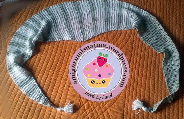 baktus shawlette knitting