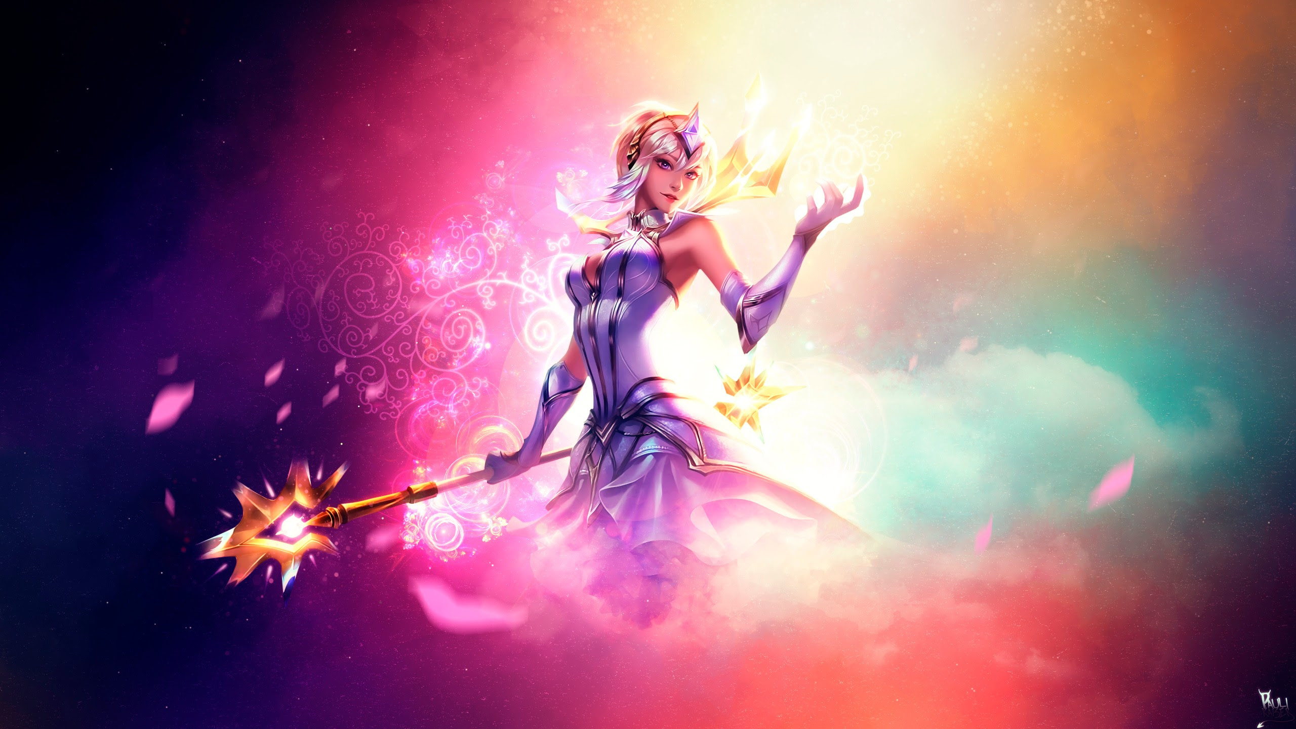 Elementalist Lux Wallpapers Fan Arts League Of Legends Lol
