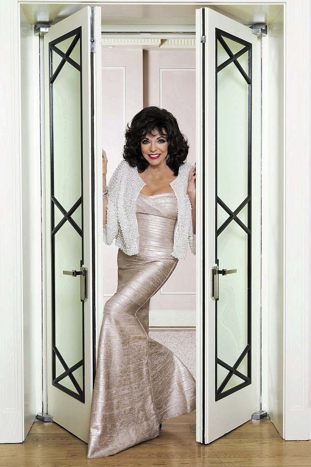Joan Collins says she thinks that Britain has become overcrowded and wants us to leave the EU