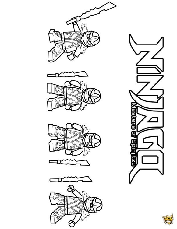 Coloriage Ninjago En Ligne Coloriage
