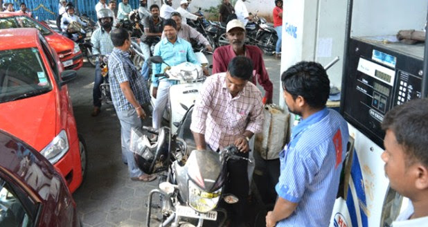 Petrol price hike continues; the cost crosses Rs. 91 in Mumbai