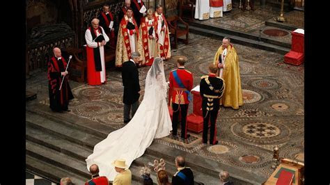 The Royal Wedding Ceremony at Westminster Abbey   YouTube