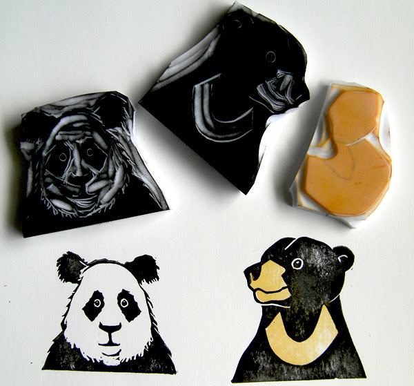bear stamps