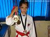 Kareteca de Itupeva conquista quatro medalhas em dois domingos