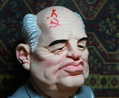 055/365 | Mikhail Gorbachev Caricature | Proje...