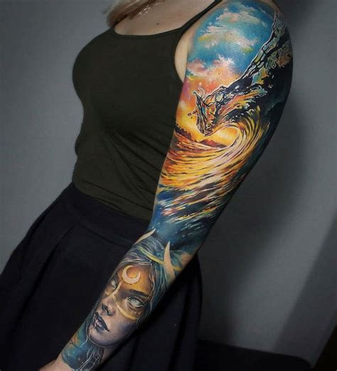 ideas  beautiful sleeve tattoos  men  women
