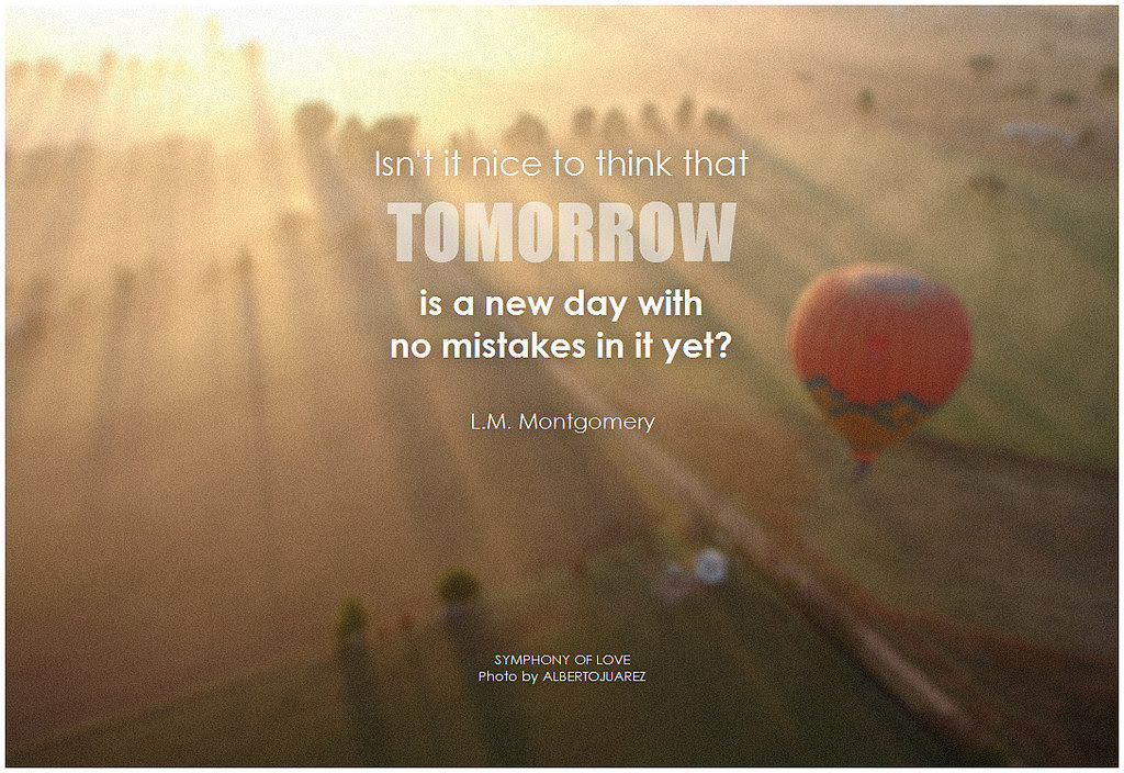 Positive Tomorrow Is A New Day Quotes Ataccs Kids