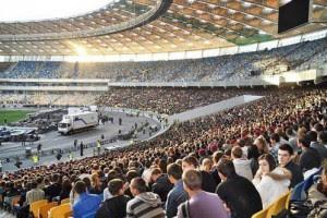На НСК Олимпийском ожидают более 40 тысяч болельщиков