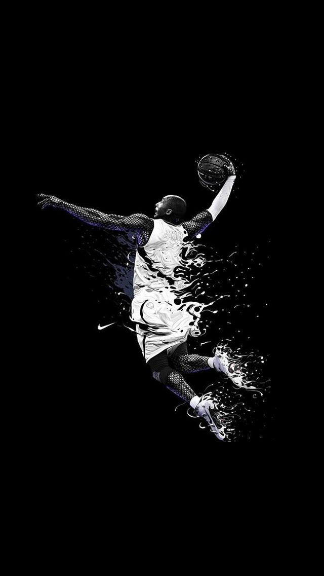 Hd Basketball Wallpapers U00b7 U2460 Total Update Black wallpaper android u00b7u2460