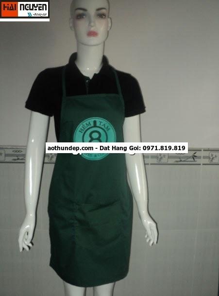 bán tạp dề quán cafe