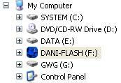 Menggantikan dominasi disket beberapa tahun yang kemudian Custom Icon Flash Disk