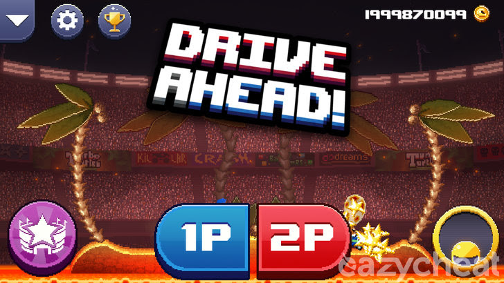 Drive Ahead! v1.24 Cheats