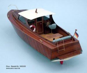 Cabin Cruiser RC Radio Control Model Boat Kit Cornwall Model Boats Ltd