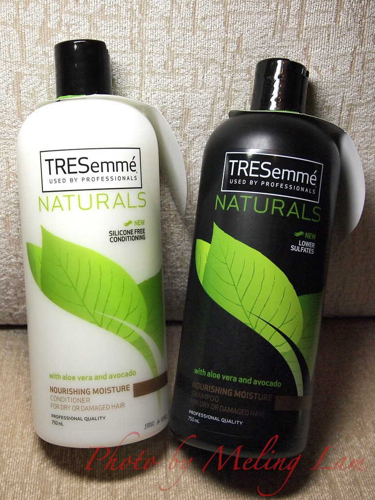 tresemme naturals shampoo conditioner