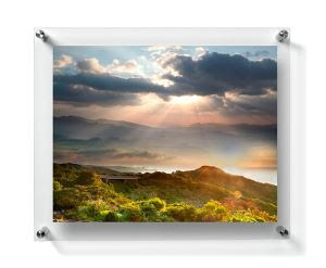 China Customized Magnetic Wallet Size Picture Frames Manufacturers