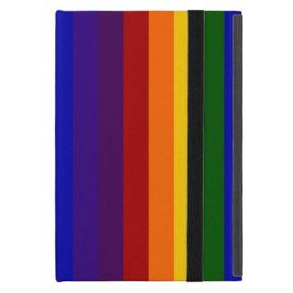 Rainbow Stripes iPad Mini Covers