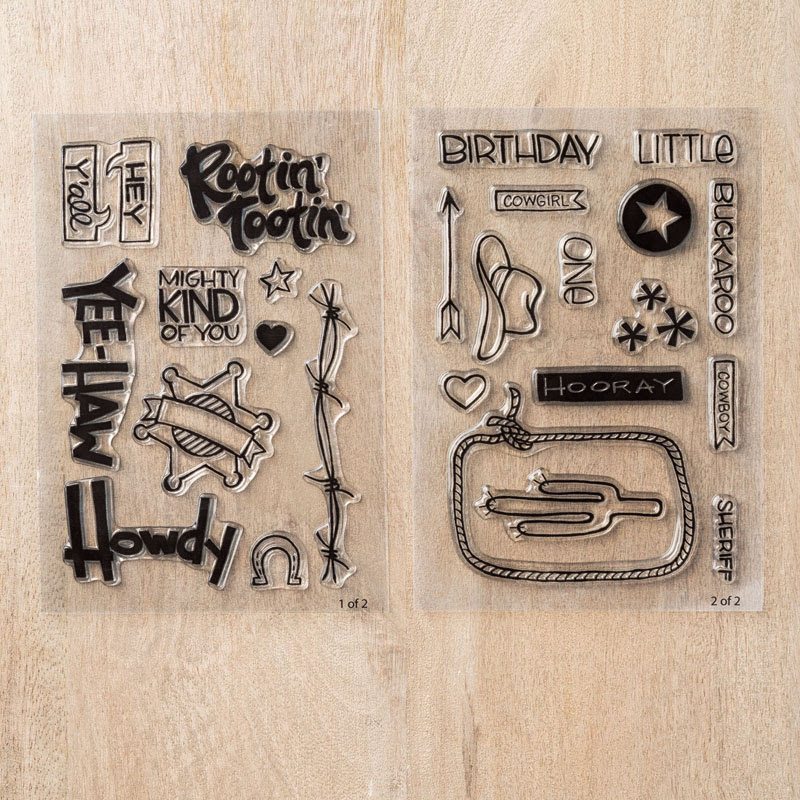 Yee-haw Photopolymer Stamp Set