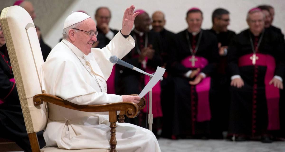 Papa Francisco, nesta quarta-feira.