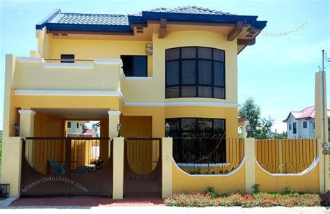 storey simple home design philippines dream house