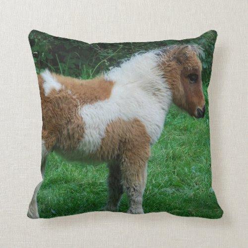 Fluffy Adorable Dartmoor Pony Pillow