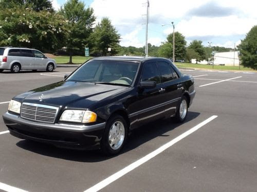 Find used 1999 Mercedes Benz C280, black w tan interior ...