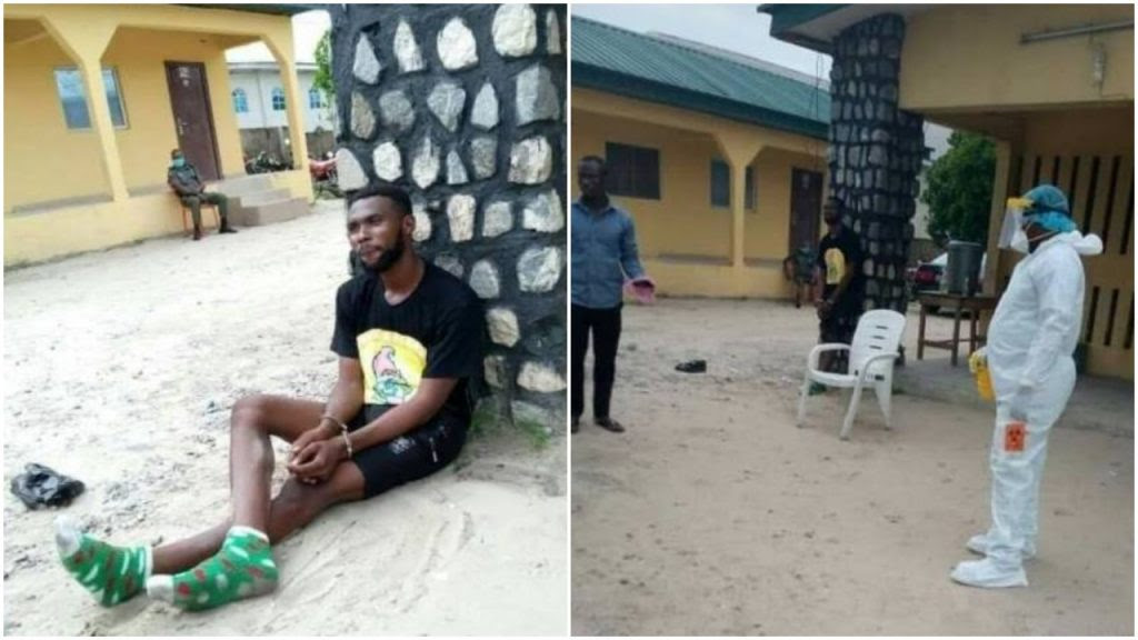 [PHOTOS] Panic as 67-yr-old US citizen dies of Covid-19 in Delta after visiting boyfriend at hotel