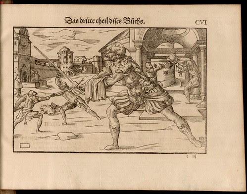 Joachim Meyer - Gründtliche Beschreibung des Fechtens 1570c