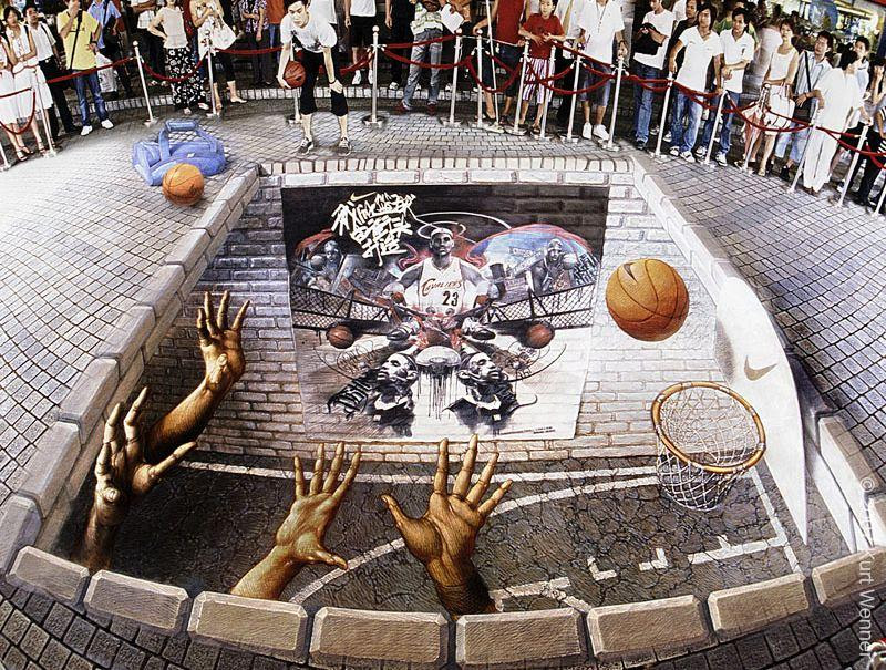 ooDji The Incredible World Of 3D Street Art