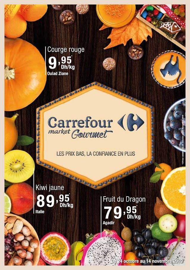 Catalogue Carrefour Market Gourmet - 24 Octobre Au 14 Novembre 2019