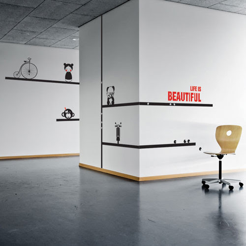 Office Decorating ideas: Give your Office a Soho vibe! - CoolWallArt