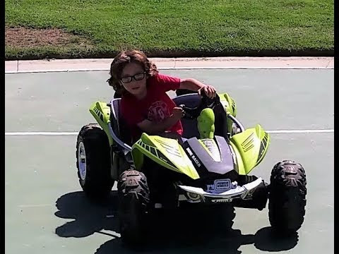 Modified Power Wheels Dune Racer 24 Volt With Build