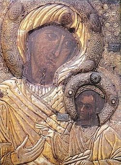 The Iveron Icon of the Mother of God.