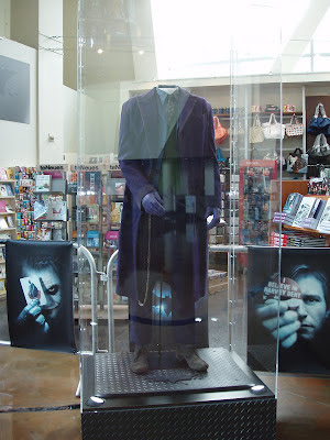 The Dark Knight movie costumes - The Joker's outfit