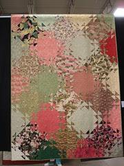 Oriental hazy quilt