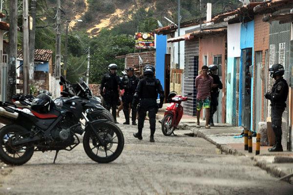 Rua da Fé, em Felipe Camarão, foi uma das que registrou homicídios no fim de semana