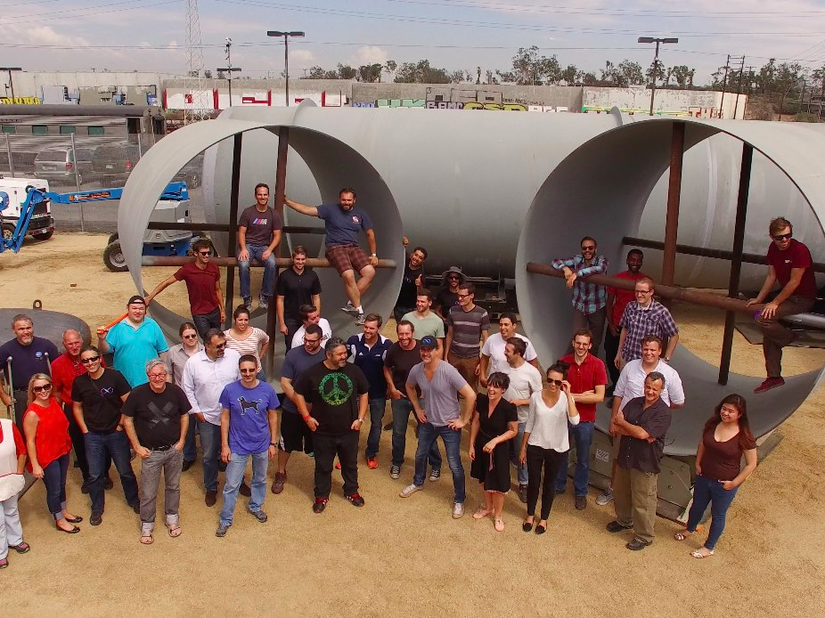 The Hyperloop came closer to reality.