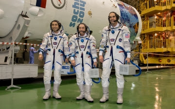 Astronautas de la ISS