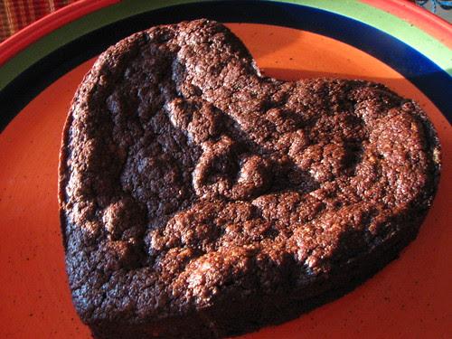 Chocolate Valentino MIni Heart Cake