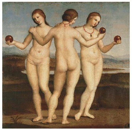 Three Graces Rapahel