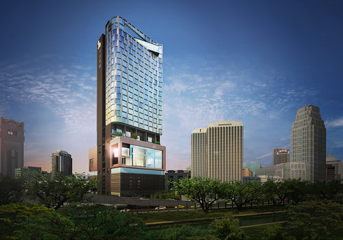 Sofitel So Bangkok - Hotel Rendering Horizontal